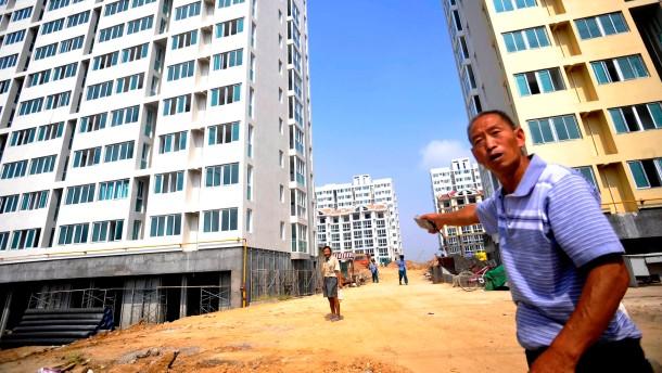 Bau von Mietwohnungen in Qingdao