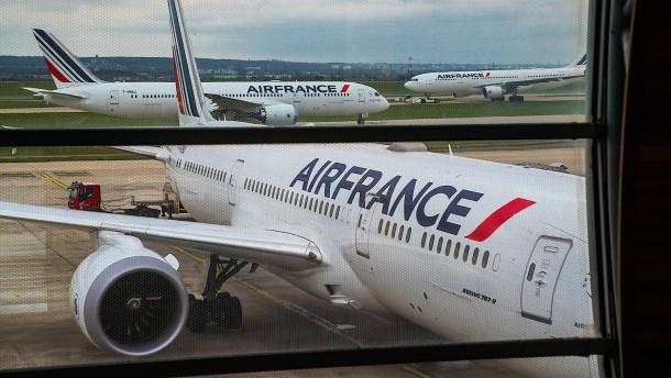 Frankreich verdoppelt Anteil an Air France