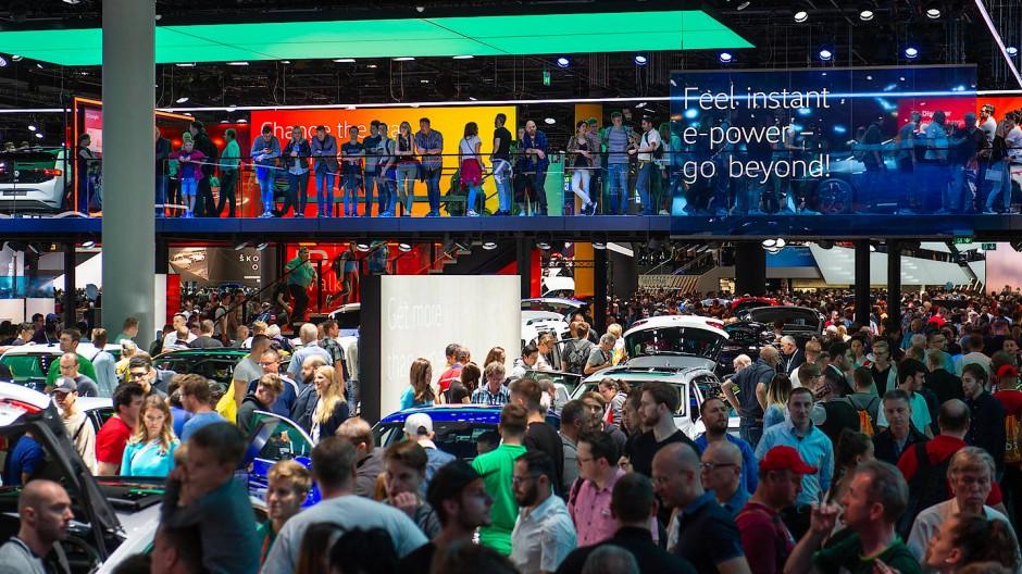 Was wird aus der IAA? Dieses Jahr kamen deutlich weniger Besucher auf die Automesse.