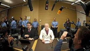 Vor Gericht: Der Angeklagte verbirgt sich nicht