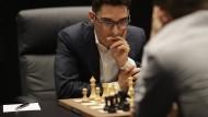Herausforderer Fabiano Caruana.