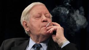 """Helmut Schmidt ist Legende"""