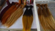 Das Geschäft mit dem Haar aus China