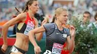 Musste aufgeben: Das Rennen über 800 Meter musste Julia Stepanowa frühzeitig beenden.