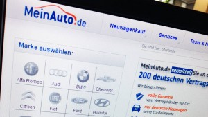 Autohändler in Angst