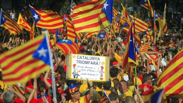 Richter stoppen Referendum der Katalanen