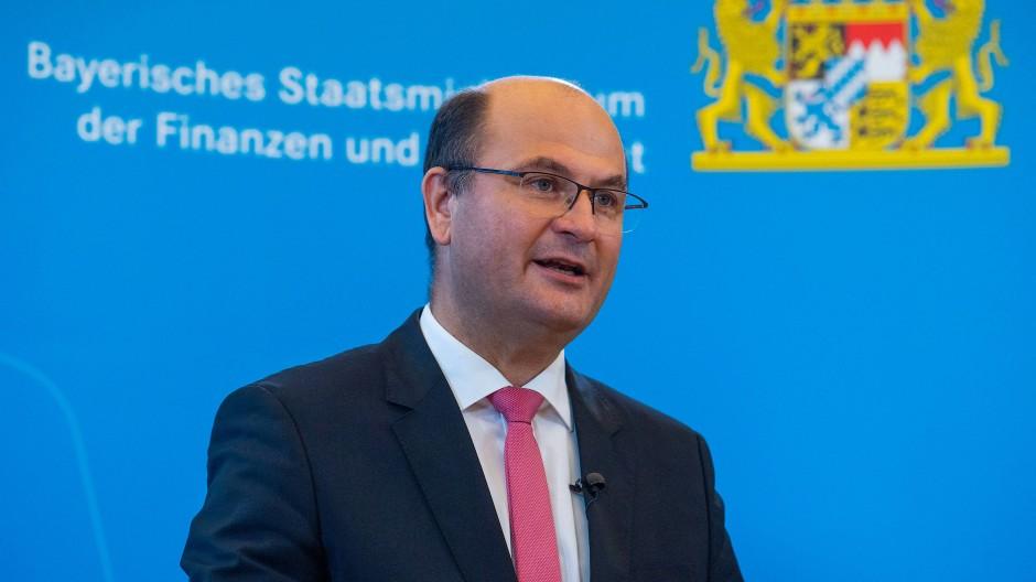 Albert Füracker (CSU), Finanzminister von Bayern