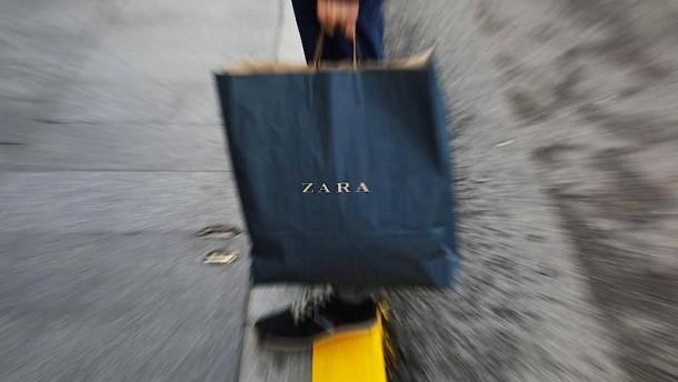 Modekonzern Inditex steigert Umsatz