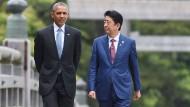 Obama vor historischem Besuch in Hiroshima