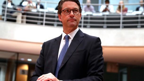 Opposition findet Scheuer-Aussagen unglaubwürdig