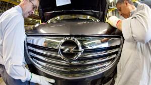 Opel verhandelt über Kurzarbeit
