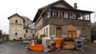 Stehen unter Denkmalschutz: Die Gebäude des Taunusbrunnens sollen saniert werden.