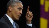 Obama: Trump muss Amerikas Führungsrolle wahren