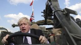 Brexit-Hardliner Johnson plant Steuersenkungen