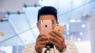 Umsatzrückgang bei Apple