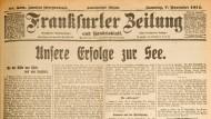 Frankfurter Zeitung 1914-11-07