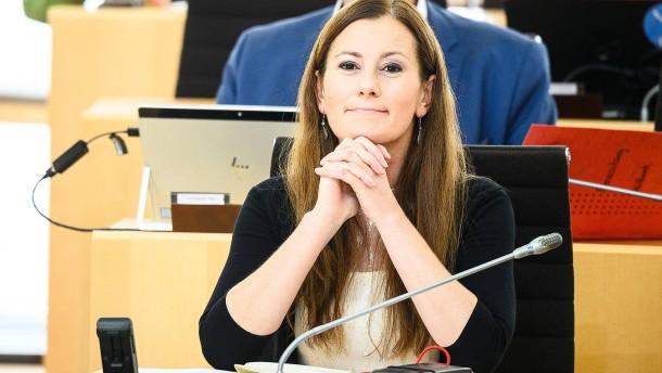 """Linken-Politikerin Wissler sieht """"klare Bedrohung"""" gegen ihr Leben"""