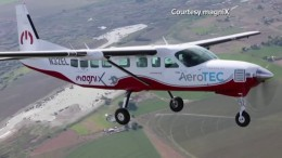 Umgebaute Cessna ist das bislang größte Elektroflugzeug