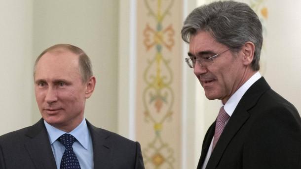 Russen spannen Siemens ein