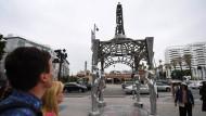Die Statue von Marilyn Monroe auf dem Walk of Fame ist weg.
