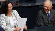 Scheitert Rentenreform an Schäuble?
