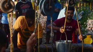 Das Wasser wird knapp in Indien