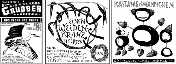 Comic / Kat Menschik / Der goldene Grubber / 014