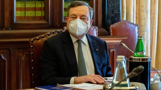 Welches Gesicht wird Draghi als Ministerpräsident zeigen?