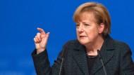 Angela Merkel: Eine Rede, die ein bedenkliches Vakuum hinterlässt