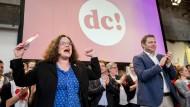 Hoffen auf den Befreiungsschlag: Andrea Nahles und Lars Klingbeil beim Abschluss des Debattencamps
