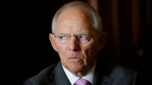 Schäuble sieht jahrhundertelange Partnerschaft in Gefahr