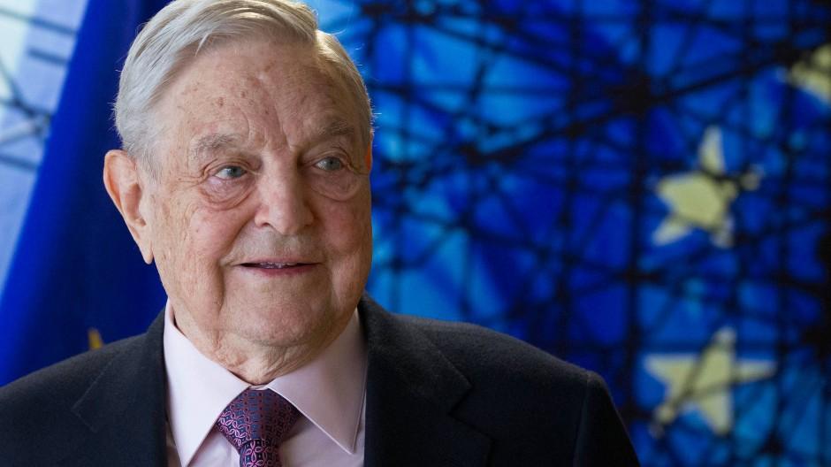 George Soros, milliardenschwerer Investor und Philanthrop