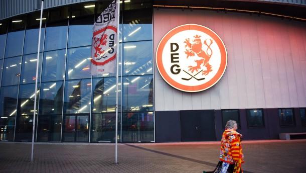 DEG - die Düsseldorfer EG (Düsseldorfer Eislauf Gemeinschaft) ist ein traditionsreicher Eishockeyclub aus Düsseldorf, der in der Deutschen Eishockey- Liga spielt