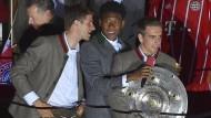Gemischte Gefühle bei der Meisterfeier des FC Bayern
