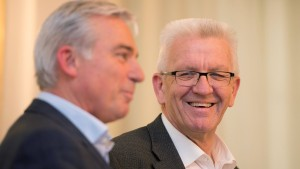 Grün-Schwarz in Stuttgart meldet Einigung