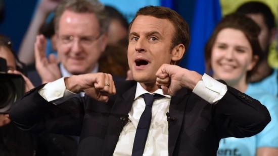 Macron will seinen Mentor Hollande beerben