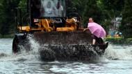 Chinesische Provinz kämpft mit Überschwemmungen