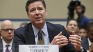 Hat einen Brief an seine ehemaligen Mitarbeiter geschrieben: der gefeuerte FBI-Chef James Comey