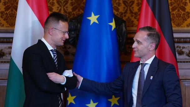 Maas übergibt Vorsitz im Ministerrat