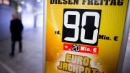 Noch nicht ausgeschüttet: Auch am Freitag geht es wieder um 90 Millionen Euro