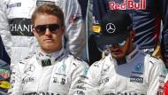 Gleiches Ziel, verschiedene Richtungen: Rosberg und Hamilton geraten häufiger aneinander