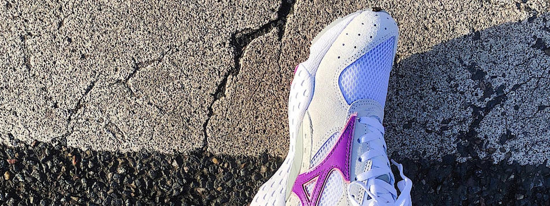 Ein Sneaker für den Kampf gegen das Virus