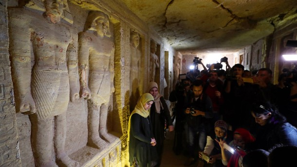 Mehr als 4400 Jahre altes Grab von Hohepriester Wahtye in Ägypten entdeckt