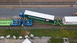 Autozug für Lastwagen soll Klima schützen