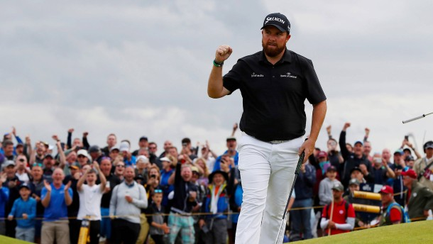 Irlands Golfer Lowry dominiert vor Finaltag