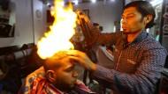 Heiße Frisuren im Gazastreifen