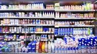 Unsere Supermärkte sind gut gefüllt.