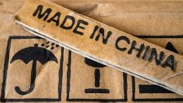 "Hongkong-Güter sind in Amerika jetzt ""Made in China"""