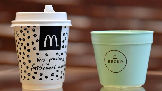 McDonald's will in Europa Plastikmüll reduzieren