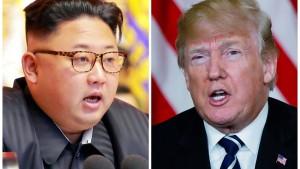 Trump bestätigt Gespräche mit Nordkorea